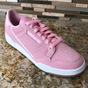 Adidas continental sneaker shoes pink 9.5 woman